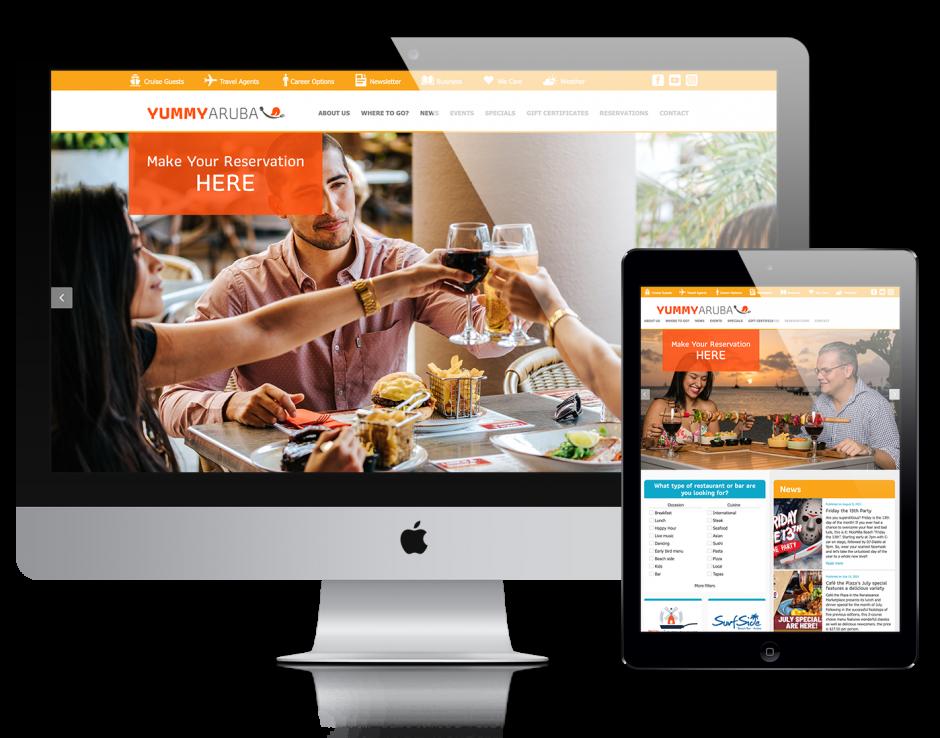 Yummy Aruba, a collection of restaurants on Aruba